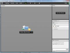 Screenshot meines Tests von Adobe Connect 8