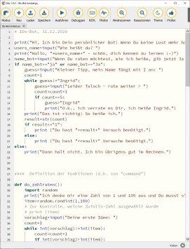 """""""Code-Beispiel"""