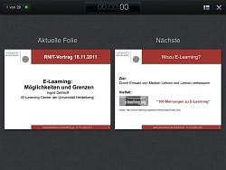 Foto iPad-Keynote