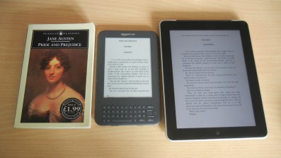 Foto Buch, Kindle, iPad