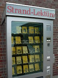Leseheft-Verkaufsautomat